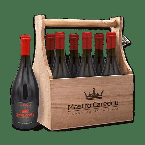 Box Scorta La Rossa 75cl